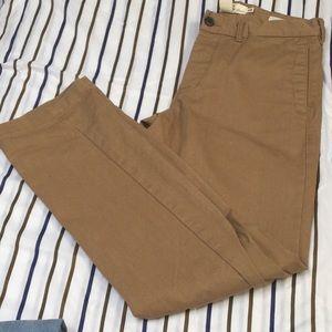H&M Men's Camel Tan Cargo Jeans